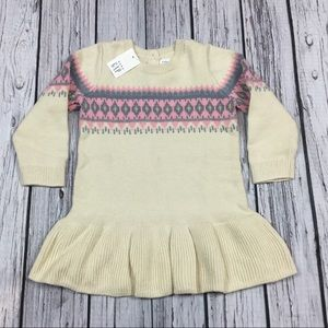 Gap Girls 0 3 6 12 18 24 Month Sweater Dress